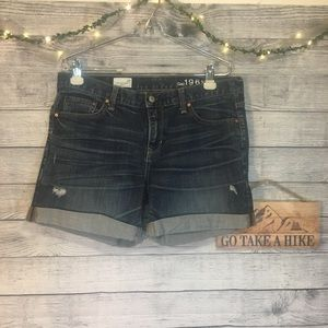 GAP 1969 Boyfriend Shorts Size 29